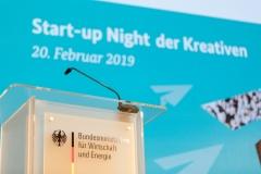 Start-up Night der Kreativen | BMWi, Berlin – 20.02.2019